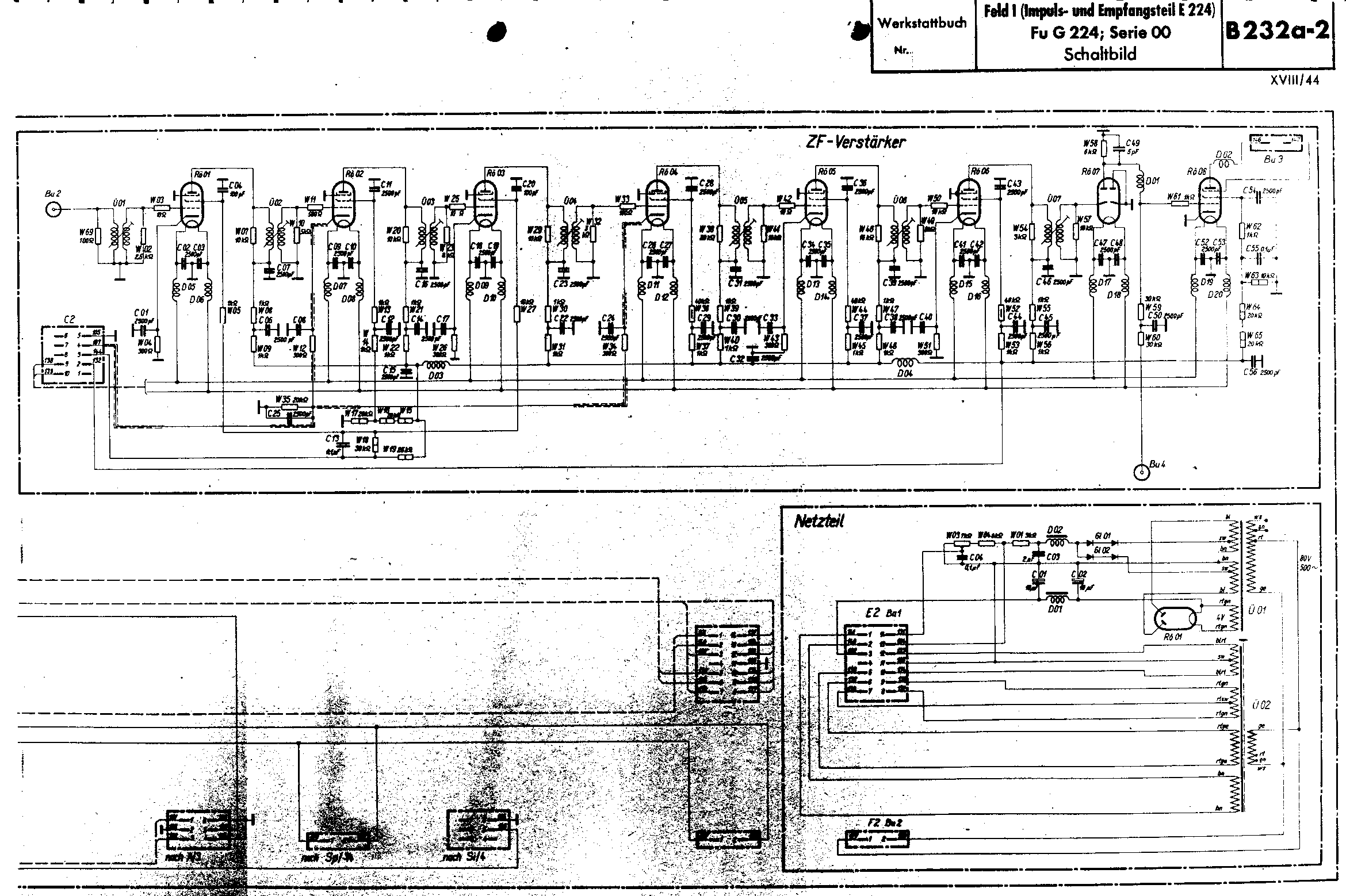 Berlin Radar Survey Case 224 Wiring Diagram By Clicking On This Drawing You Can Open In Pdf The Entire Of Full Feld I Schematic Kindly Provided Mr Eibensteiner