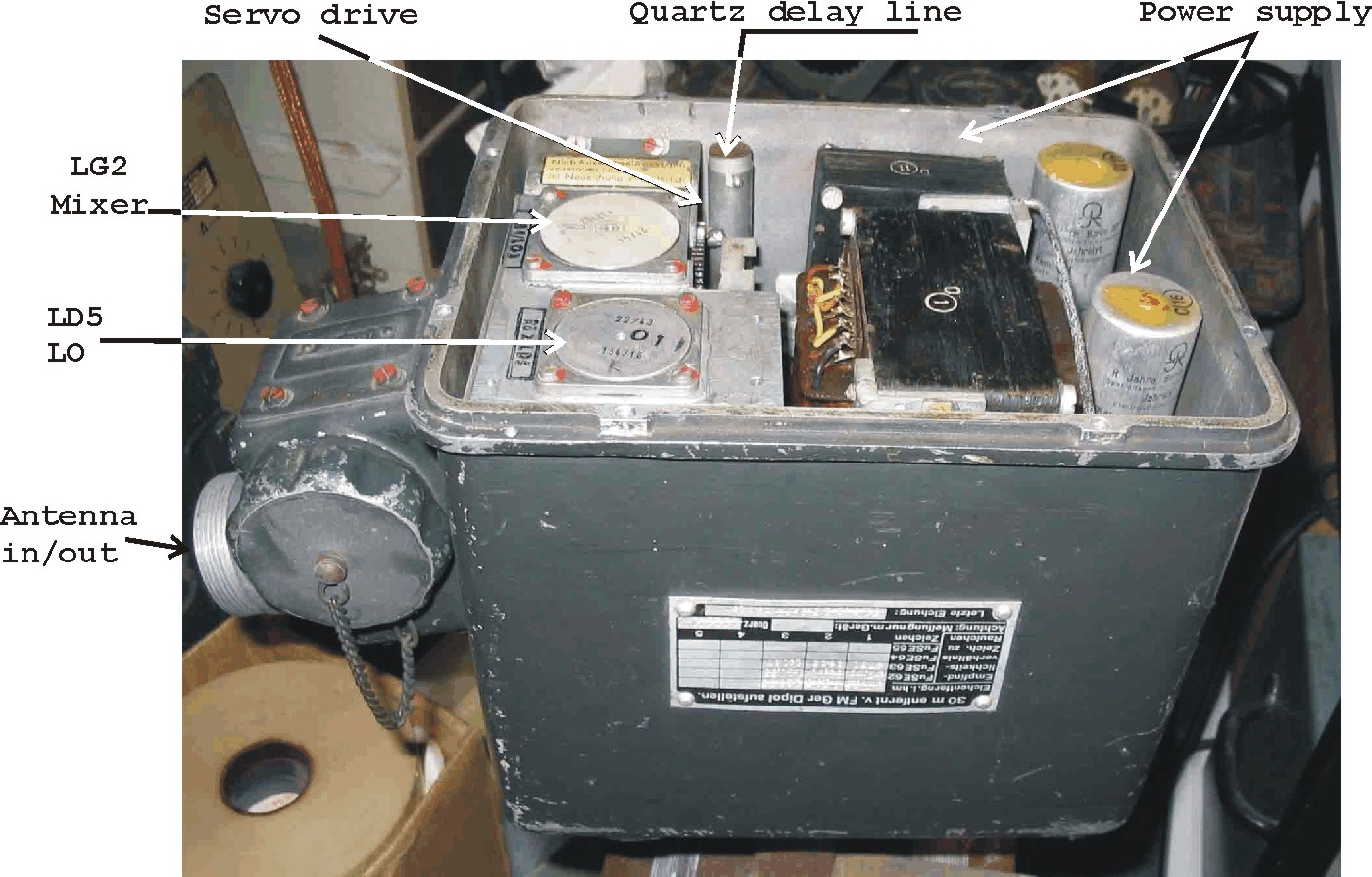 Radar test-gear